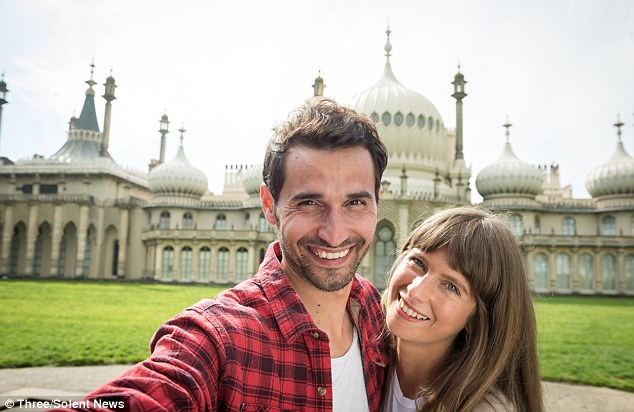 Brighton's stately Pavilion (pictured) could, to the untrained eye, resemble India's sprawling Taj Mahal