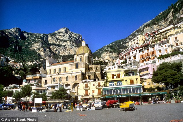 In reality, the Amalfi is a stretch of coastline on the southern coast of the Salerno Gulf in Southern Italy