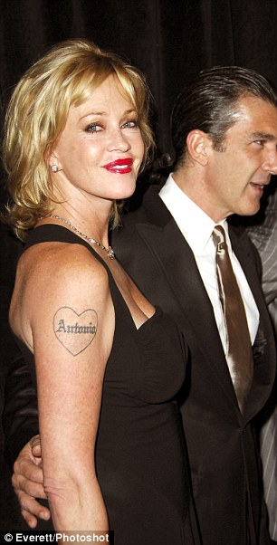 Melanie Griffith, Antonio Banderas at arrivals for 21st Annual IMAGEN Awards