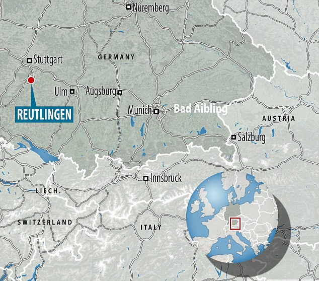The attack happened in Reutlingen, south west Germany close to the major city of Stuttgart.The attack comes as Germany is on edge, following a rampage at a Munich mall on Friday night in which nine people were killed, and an axe attack on a train a week ago that left five wounded