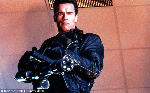 He's back! Arnold Schwarzenegger, a Republican, worked with Cameron on the Terminator films
