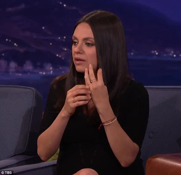 Mila Kunis Reveals She And Ashton Kutcher Bought Their