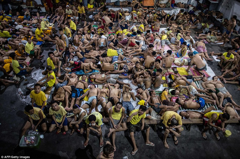 Image result for OVERCROWDED JAILS, philippines, photos