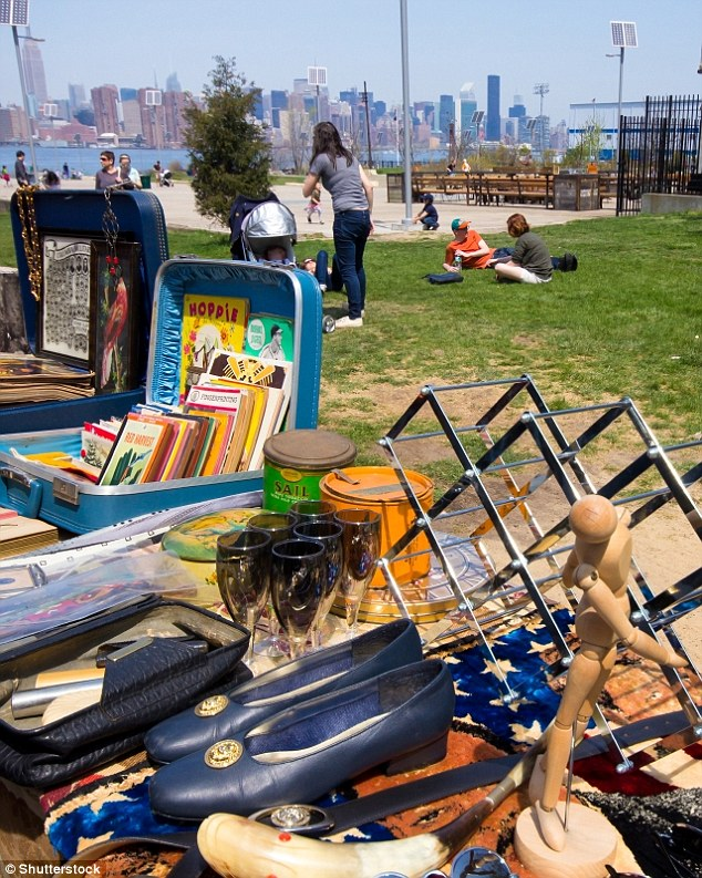 At the Brooklyn Flea Market, you'll find everything from records and 1930s posters to vintage clothing and antique collectables - and wandering round is free