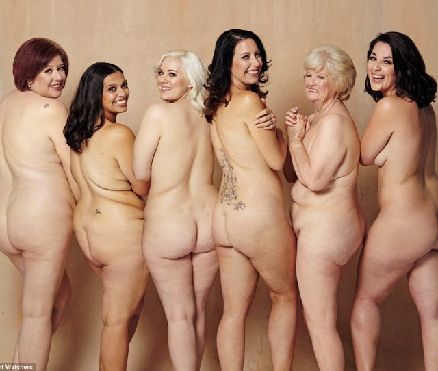Six Brave Women Stripped Off To Appear In A Naked Photoshoot After Collectively Shedding More Than