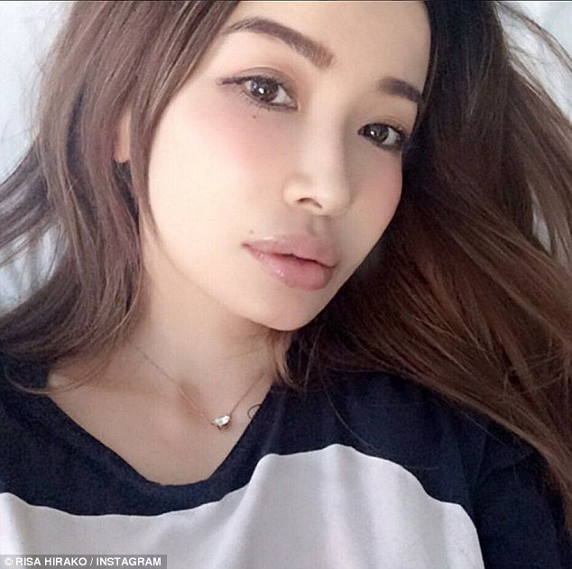 Japanese model Risa Hirako, who claims to be 45 years old, has become something of a social media sensation thanks to her flawless selfies