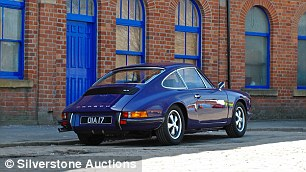 This 1972 Porsche 911 is a prime example of an original version of the iconic model. The £84,395 sale price was a fraction off the lower estimate of £85,000