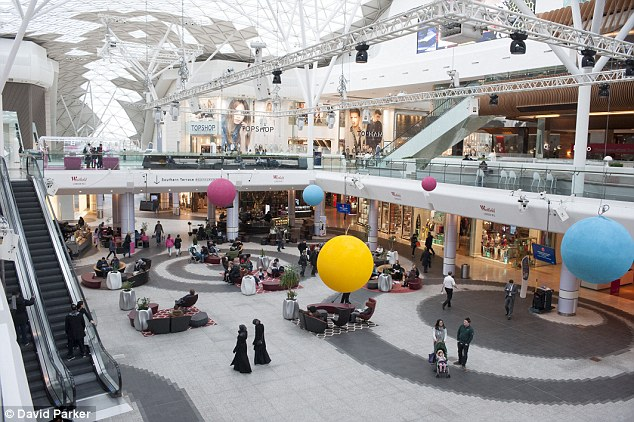 Interior: Westfield White City (file picture) is a shopping centre located in West London
