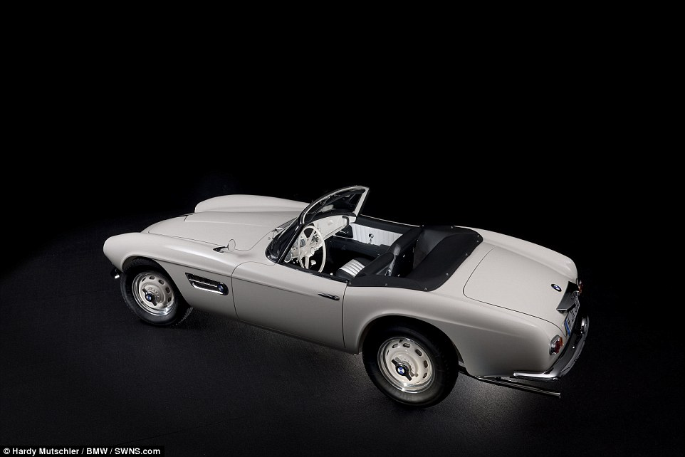 Elvis Presley s 1957 BMW 507 is fully restored to its original glory     A rare 1957 BMW 507  which was originally purchased and owned by the king of