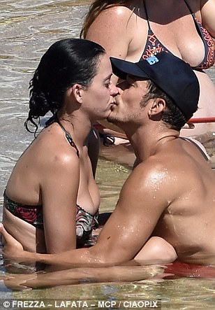 orlando bloom katy perry amore