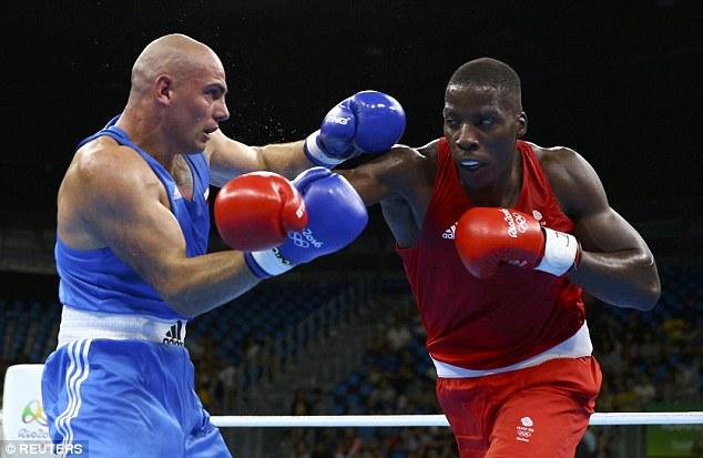 Bildergebnis für Nigerian-British boxer and Rio 2016 Olympian Lawrence Okolie
