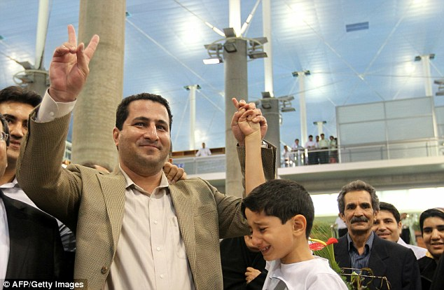 Shakram Amiri appeared in a video in which he claimed to have been put under pressure to 'reveal sensitive information' by the CIA. Upon his return to Tehran, Iranian authorities backed up his claim to have been treated to a 'hero's welcome'