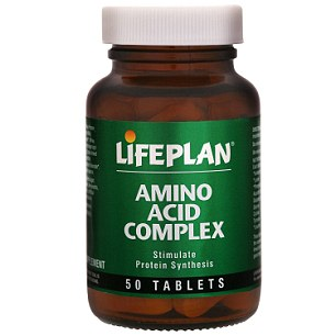 LifePlan's Amino Acid Complex, £3.49, dolphinfitness.co.uk