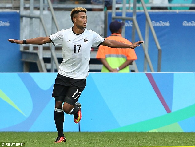 Image result for gnabry olympics