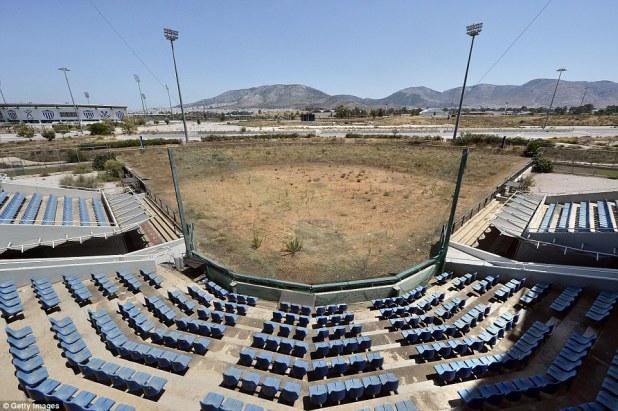 The Hellinikon Olympic complex in Athens was once the site for the baseball and softball. Due to Greece's economic frailties post Olympic Games there has been no further investment in the complex
