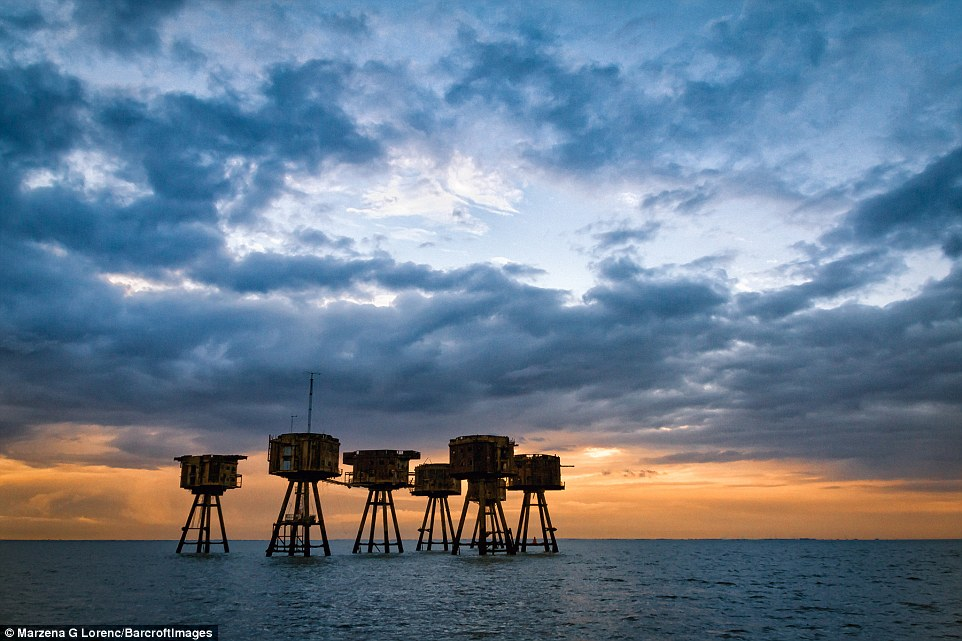 The Thames Estuary forts were assembled after the main London Blitz and they jointly shot down 22 enemy aircraft, 30 V1 flying bombs, and also accounted for a U-boat