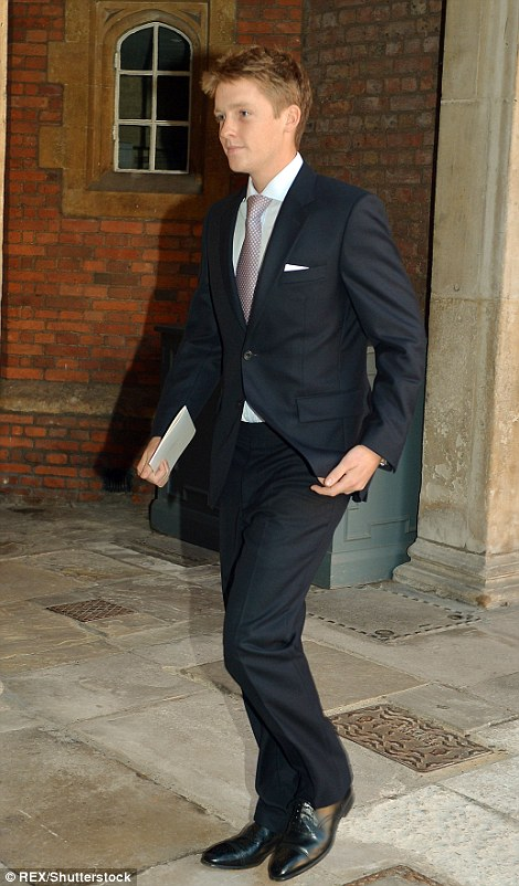 Hugh Grosevnor, 25, (pictured in 2013) is set to inherit his father's entire £9billion estate