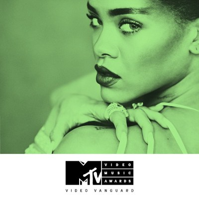 Working it: Pop star Rihanna will receive the Michael Jackson Video Vanguard Award at the MTV Music Video Awards on August 28