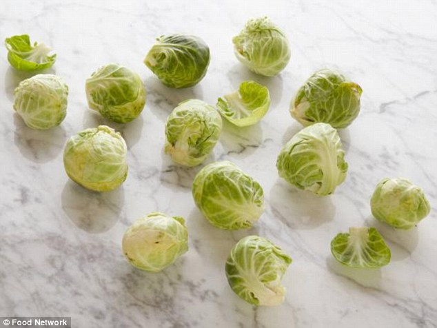 Like them or loathe them, 12 brussel sprouts are a 100-calorie serving