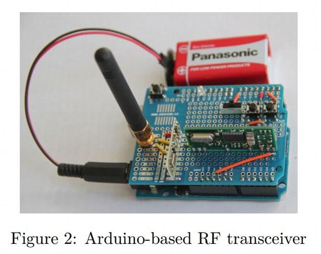 Bien que cela puisse sembler un processus coûteux et fatigant, les deux attaques peuvent être effectuées avec des radios bon marché, facilement disponibles à piles et modules RF. L'équipe a été en mesure de construire leur propre appareil (photo) qui coûte seulement 40 $