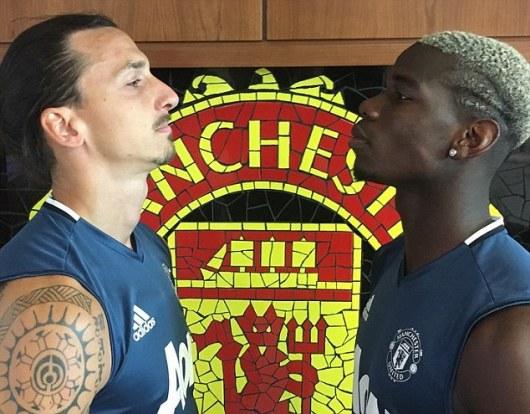 Image result for Ibrahimovic, Pogba