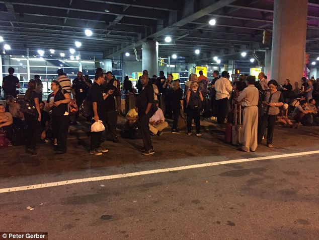 The Port Authority of New York and New Jersey said no evidence of gunfire was found but the evacuation was out of an 'abundance of caution