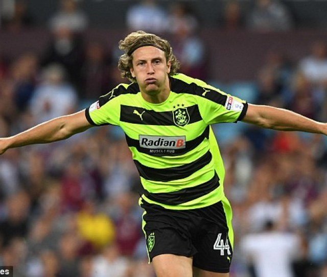 Michael Hefele Earned A Draw For Huddersfield With A Long Range Equaliser On Minutes