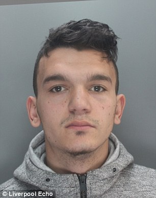 Florin Geblescu, 18, of Victoria Road in Levenshulme, Manchester locked up for 18 months for trying to rob the pensioner in Wirral