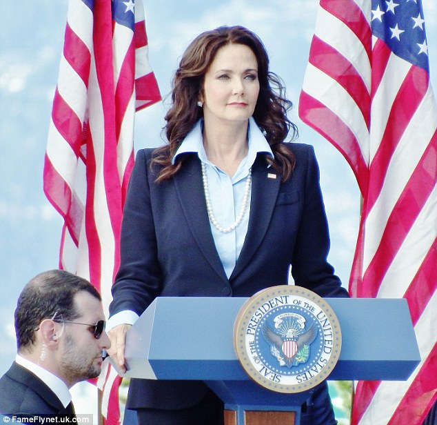 Image result for lynda carter president