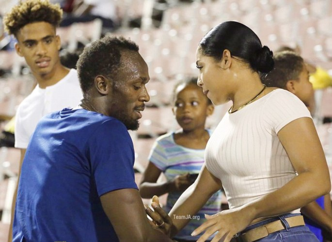 United: Judging by her social media pages, Miss Bennett never doubted her boyfriend's ability to make history in Rio