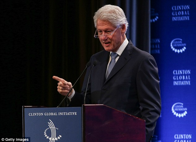 Bill Clinton said earlier this month that the foundation would no longer accept foreign donations if Clinton is elected president