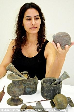 Especialistas acreditam que os objetos tinham sido feitos na Síria e estavam sendo transportados para Israel
