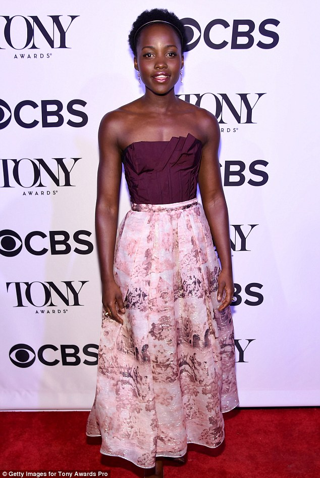 Work hard play hard: Lupita has found love amidst a very busy schedule, having just released The Jungle Book and looking forward to promotion of the new huge Disney and Star Wars films