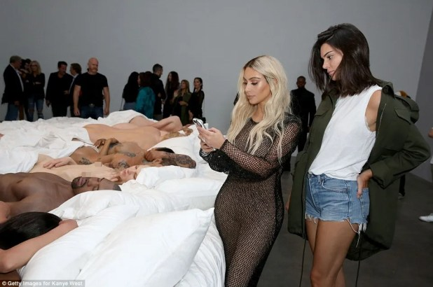 Kim and Kendall took numerous Snapchats to share the private event for their fans who were unable to get in to the exclusive event
