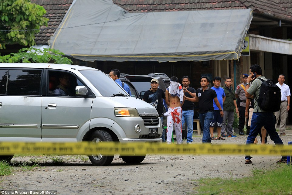 Hundreds of people could have been killed if the bomb had gone off inside the church in Indonesia but the device failed