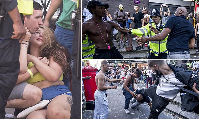 Billedresultat for Boy, 15, is one of SIX people stabbed at Notting Hill Carnival