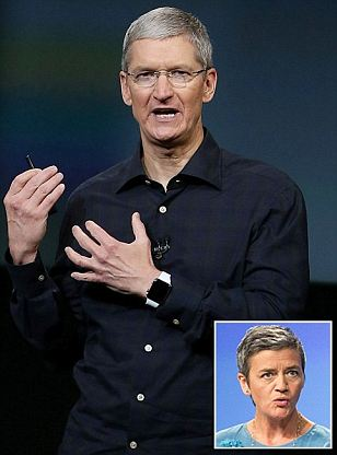 Apple faces bill of billions over its Irish tax affairs after EU ruling