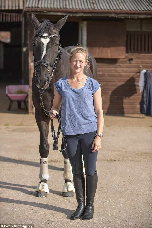 Team GB horse rider, Lucy Phillips was with 18-year-old Pitucelli when the attack occurred