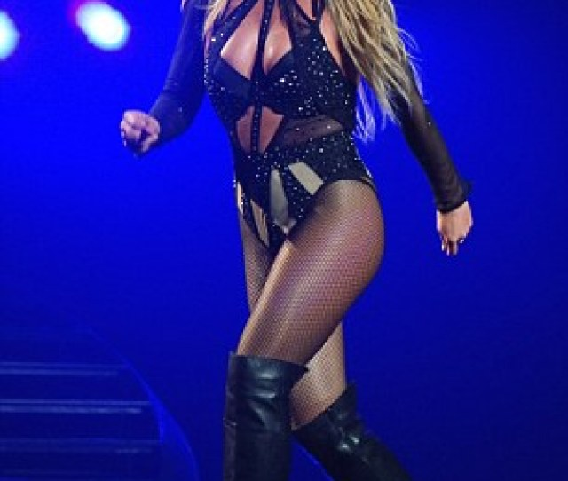 Britney Spears Performs Her Piece Of Me Show In Las Vegas Nevada On
