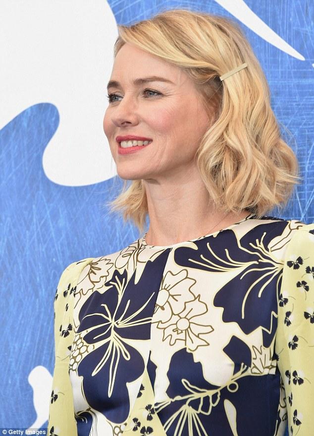 Wifey: Naomi joga a terceira esposa de Liev Linda no filme, que foi filmado no ano passado