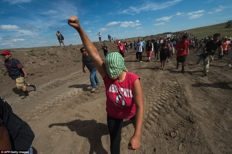 Tribal preservation officer Tim Mentz said in court documents that the tribe was only recently allowed to survey private land north of the Standing Rock Sioux reservation