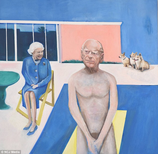 Image result for prince philip portrait naked