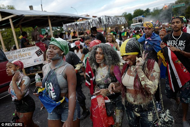 The tradition originated in the Caribbean and is celebrated in several North American cities with West Indian communities, including Boston and Toronto. The name, J'Ouvert, means daybreak, put together from the French words 'jour' and 'Ouvert'