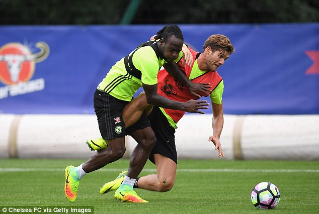 Victor Moses has impressed this season and will be hoping to finally get his chance