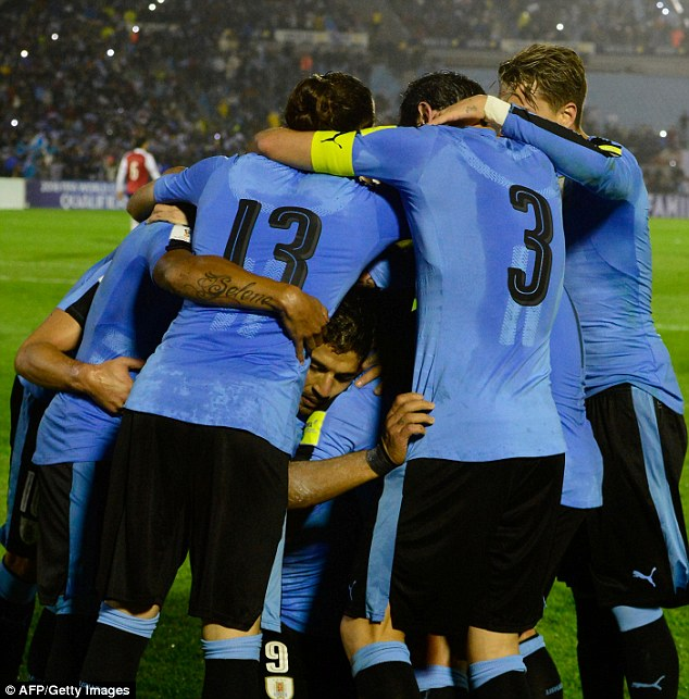 Uruguay's players embody the collective spirit Cavani says was key to their victory on Tuesday