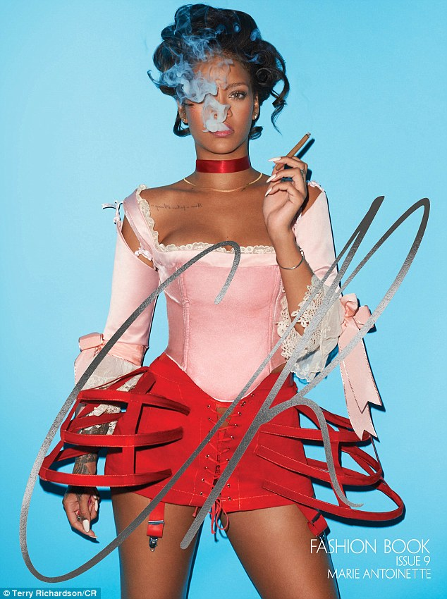 Rihanna (CR Fashion Book - Terry Richardson)