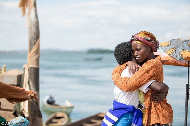 Powerful: Lupita will play the role of Harriett, the mother of Ugandan chess champion