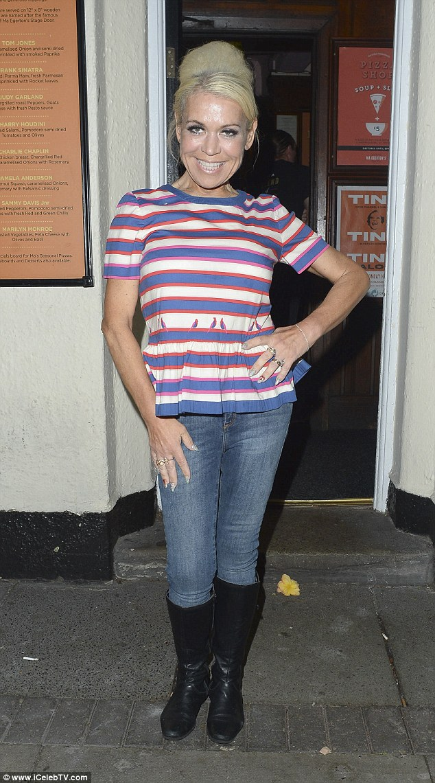 Tina Malone Shows Off Her Tiny Size 6 Figure Out With