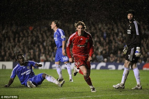 Image result for chelsea 3-2 liverpool 2008
