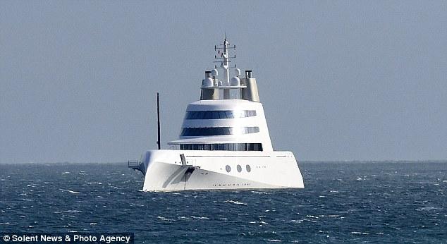 Yacht Melnichenko Andrey